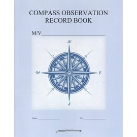 Compass Observation Record Book by Harpoon