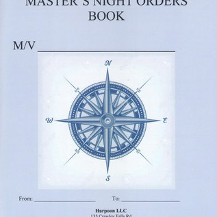 Master's Night Orders Book by Harpoon