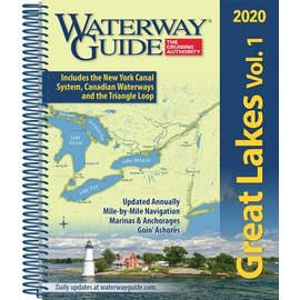 WG Waterway Guide Great Lakes Vol 1 2020 *** OLD EDITION****