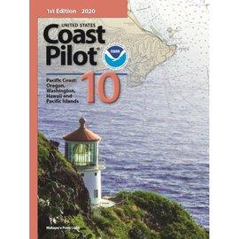 NOS Coast Pilot 10: 2E/2021 Pacific Coast - Oregon, Washington, Hawaii, Pacific