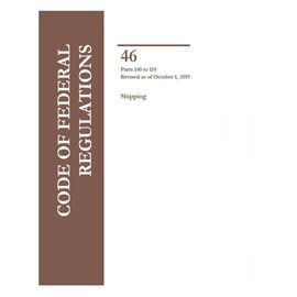 GPO CFR46  Volume 5 Parts 140-155 Shipping 2019
