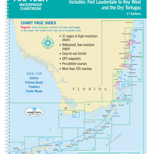 MTP Florida Keys 1st Ed Compact Chartkit WPB0755-1