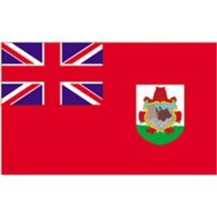 "DEF Bermuda 12"" x 18"" Courtesy Flag - Nylon"