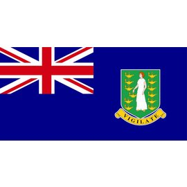 "DEF British Virgin Islands Flag 12"" X 18"""