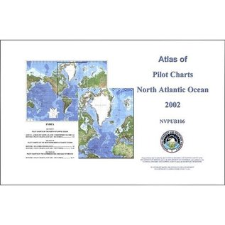 DMA Atlas of Pilot Charts, North Atlantic NVPUB106 2002
