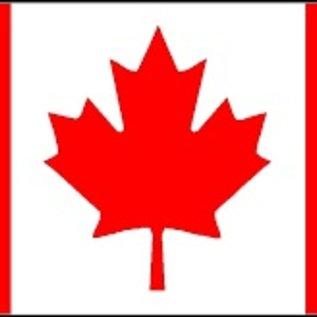 Canada  Nyl-Glo Flag 3' X 5'