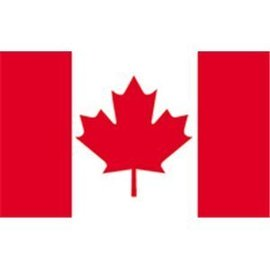 "Canada Courtesy Flag 12"" x 18""  - Nylon"
