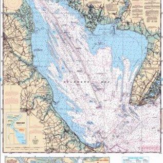 ISS Waterproof Charts Delaware Bay 48