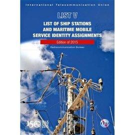 ITU List V- ITU List of Ship Stations 2020 (CD)