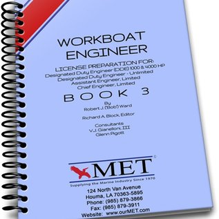 MET Workboat Engineer and Oiler Vol 3 BK 107-3 MET