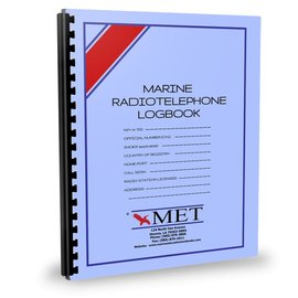 MET Marine Radio Telephone Logbook