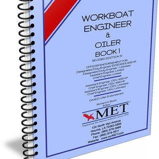 MET Workboat Engineer and Oiler Vol 1 BK-107-1 MET