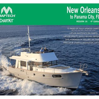 MTP ChartKit 16 New Orleans to Panama City 4E 2014 by Maptech