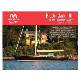 MTP ChartKit 2 Block Island to Canadian Border by Maptech *****OLD EDITION*****