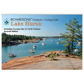 MTP Lake Huron Richardson Chartbook & Cruising Guide 7th edition