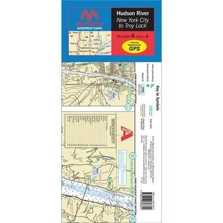 MTP Hudson River Waterproof Chart by Maptech WPC004