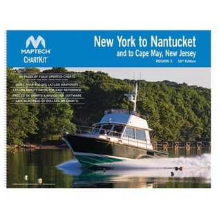 MTP ChartKit 3 New York to Nantucket inc. Cape May, NJ by Maptech *****OLD EDITION*****