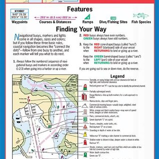 MTP New York Harbor and Approaches Waterproof Chart by Maptech WPC008