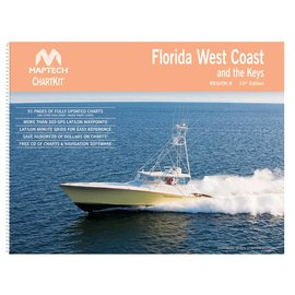 MTP ChartKit 8  Florida West Coast and the Keys *****OLD EDITION*****15ED