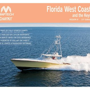 MTP ChartKit 8  Florida West Coast and the Keys 15ED by Maptech