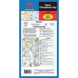 MTP Upper Chesapeake Bay by Maptech WPC025 4E