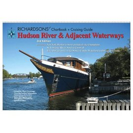 MTP Hudson River & Adjacent Waterways Richardsons Chartbook & Cruising Guide 3E