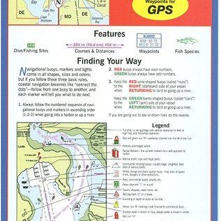 MTP Delaware Bay and the C & D Canal Waterproof Chart by Maptech WPC047