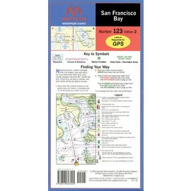 MTP San Francisco Bay Waterproof Chart by Maptech WPC123