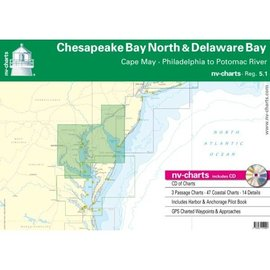 NP NV Charts Region 5.1 Chesapeake Bay North & Delaware Bays Region 5.1