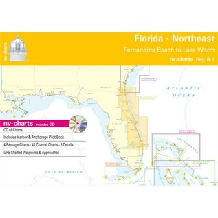 NP NV Charts Region 8.1 Florida Northeast