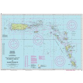 W&P I-I A Puerto Rico to Martinique chart by Imray-Iolaire