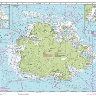 W&P I-I A27 Antigua chart by Imray-Iolaire