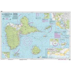 W&P I-I A28 Guadeloupe chart by Imray-Iolaire