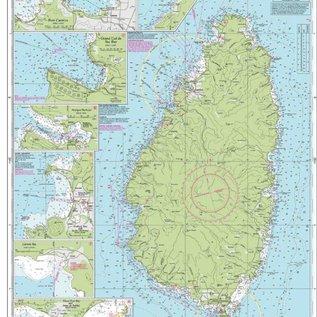 W&P I-I B1 Saint Lucia chart by Imray-Iolaire