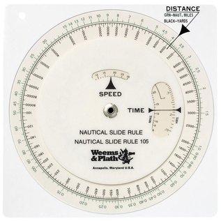 W&P Nautical Circular Slide Rule W&P 105