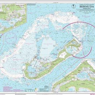 IMR I-I E5 Bermuda Islands chart by Imray-Iolaire