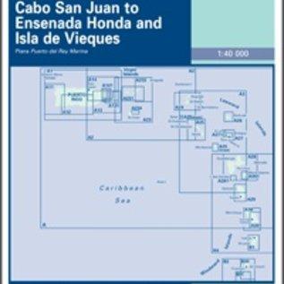 W&P I-I A141 Cabo San Juan to Ensenada Honda and Isla de Vieques - East Coast of Puerto Rico