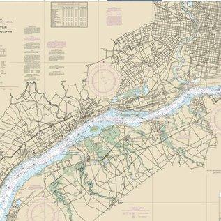 NOS NOS 12312 OGF Delaware River - Wilmington to Philadelphia