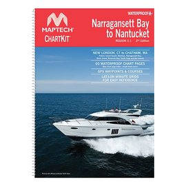 MTP Narragansett Bay to Nantucket Compact ChartKit by Maptech CCK-NAR-02 (OLD EDITION)