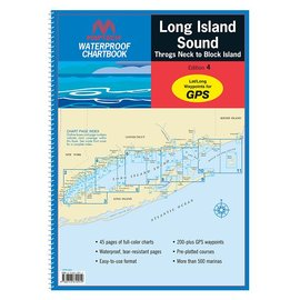 MTP Long Island Sound Waterproof Chartbook 5E WPB0325 (OLD EDITION)