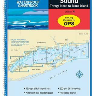 MTP Long Island Sound Waterproof Chartbook 5E by Maptech WPB0325