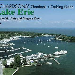 MTP Lake Erie Richardson Chartbook & Cruising Guide 7th edition