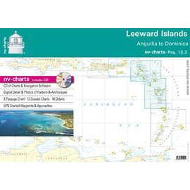 NP NV Charts Region 12.2  Leeward Island, Anguilla to Dominica