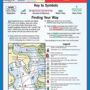 MTP The San Juan Islands Waterproof Chart by Maptech WPC104 5E
