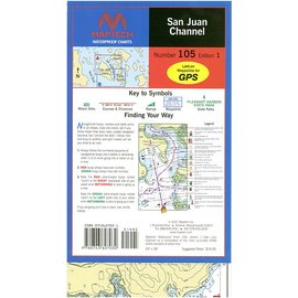 MTP San Juan Channel Waterproof Chart by Maptech WPC105