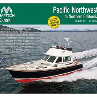 MTP ChartKit 15 Pacific Northwest to Northern California 5E by Maptech