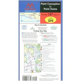 MTP Point Conception to Point Dume Waterproof Chart by Maptech WPC127 1E