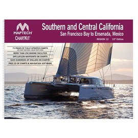 MTP ChartKit 12 Southern and Central California: San Francisco Bay to Ensenada, Mexico 10E by Maptech