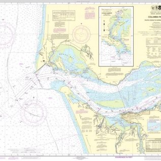 NOS NOS 18521 OGF Columbia River -- Pacific Ocean to Harrington Point