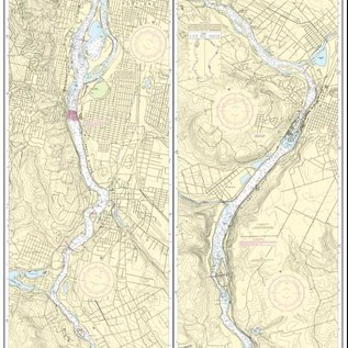 NOS NOS 18528 OGF Willamette River - Portland to Walnut Eddy